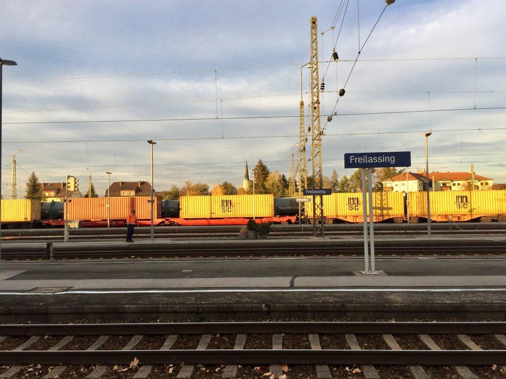 La gare de Freilassing en Allemagne  quelques minutes de la frontire autrichienne Crdits photo  Anne-Diandra Louarn