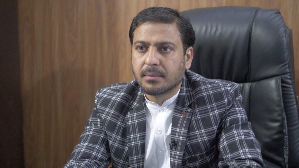 Imran Bashir - President, Naushera Virkan Press Club | Photo: Aasim Saleem