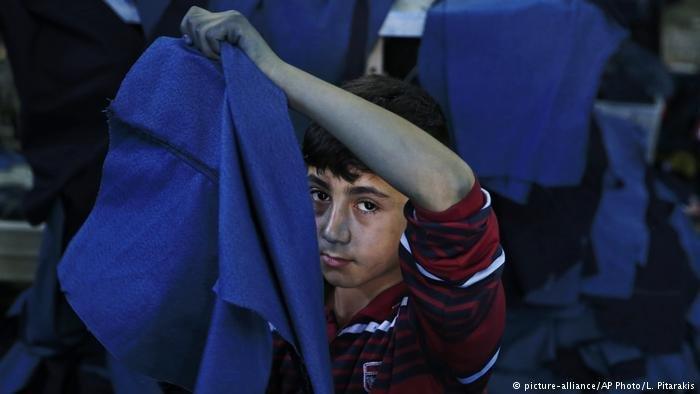 يتم تشغيل الأطفال في مصانع تركية