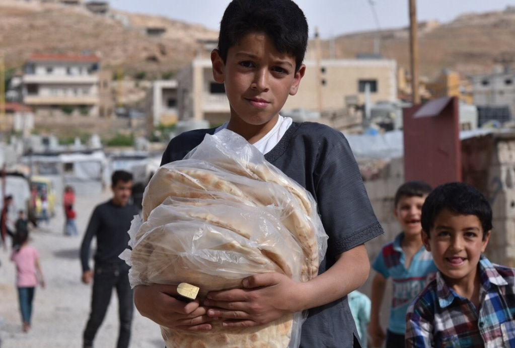 14,000-15,000 children live in the Arsal camps | COPYRIGHT: Khaldoun Zeineddine