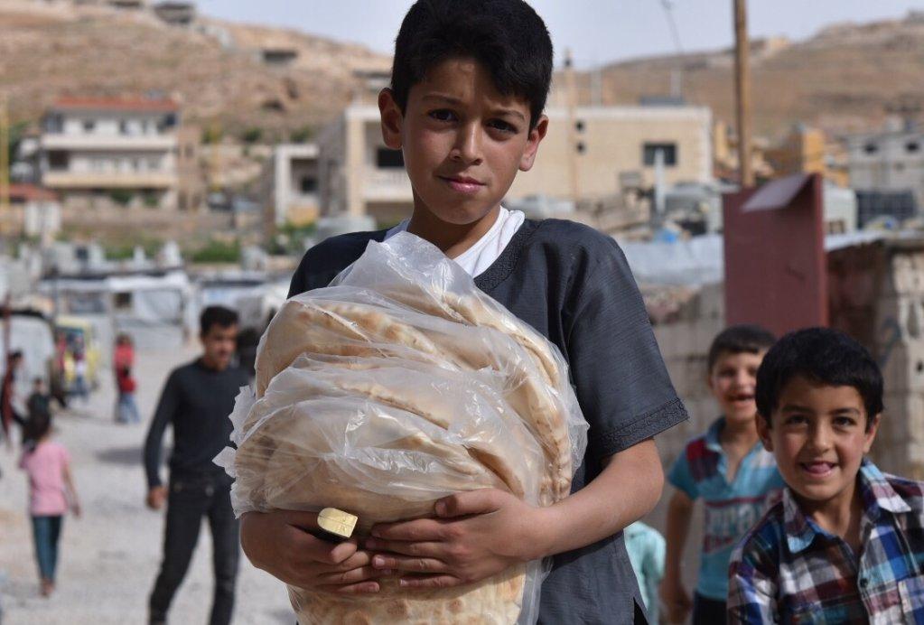 14000-15000 children live in the Arsal camps  Photo Khaldoun Zeineddine