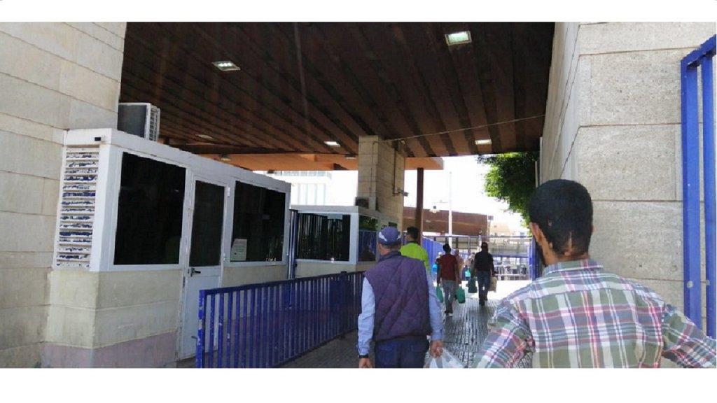 مركز تسجيل المهاجرين في مليلية للحصول على طلب اللجوء