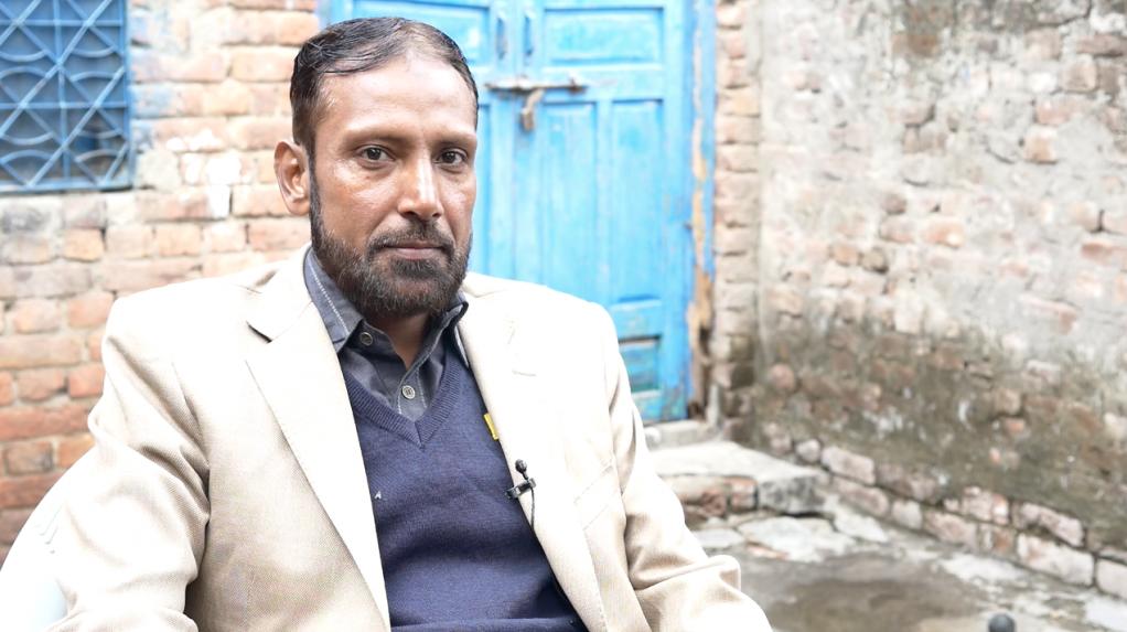 Pakistani journalist Shahid S. | Photo: Aasim Saleem