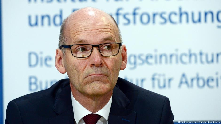 IABs acting director Ulrich Walwei hopes that more asylum seekers will enter traineeships  COPYRIGHT picture-alliancedpaM Gambarini