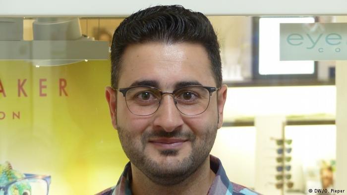 Language is the key to everything says Mahmoud Al Homsi  Credit DWOPieper