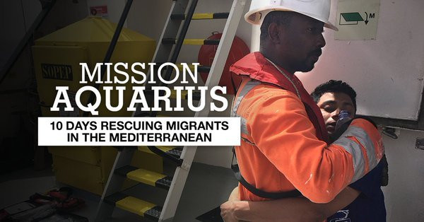 A web-documentary about a search and rescue mission in the Mediterranean