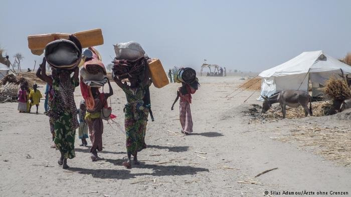 Nigerian refugees (Silas Adamou/MSF)