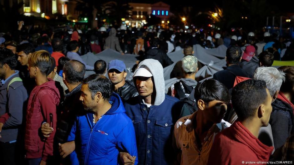 درگیری دستراستیها و پناهجویان در لیسبوس
