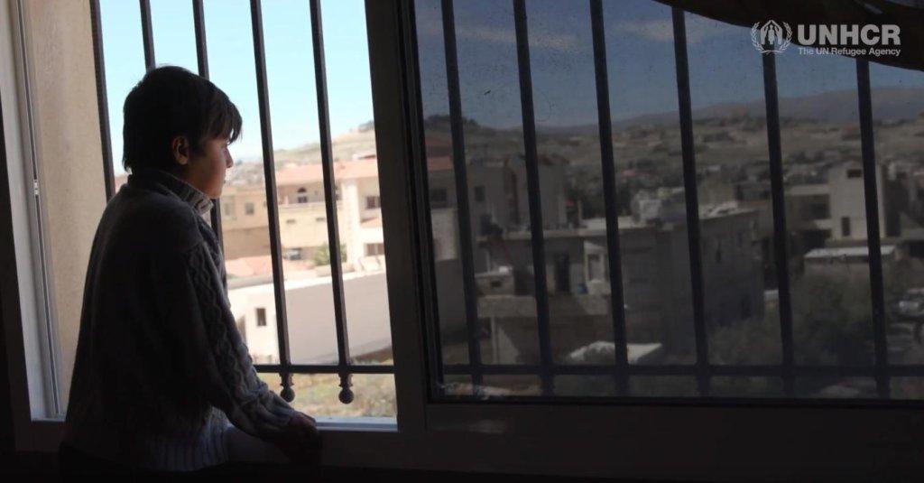 ansa / الصبي السوري عبد الرزاق الذي يعاني من فشل كلوي. المصدر: المفوضية العليا للاجئين.