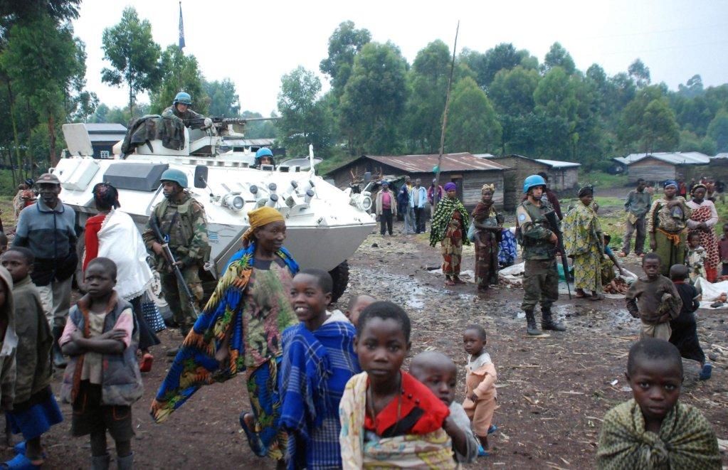 ANSA / نازحون بالقرب من العاصمة الإقليمية جوما في الكونغو الديمقراطية. المصدر: إي بي إيه/ آلان وانديموي.
