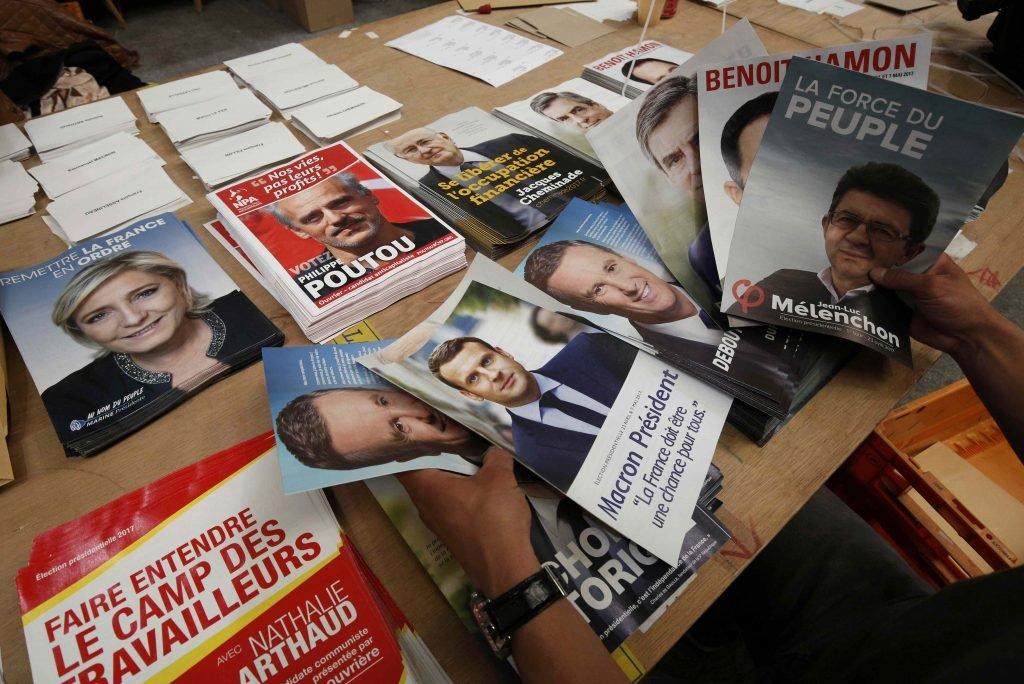 Le premier tour de la présidentielle en France se tiendra le 23 avril 2017. Crédit : Reuters / Philippe Laurenson