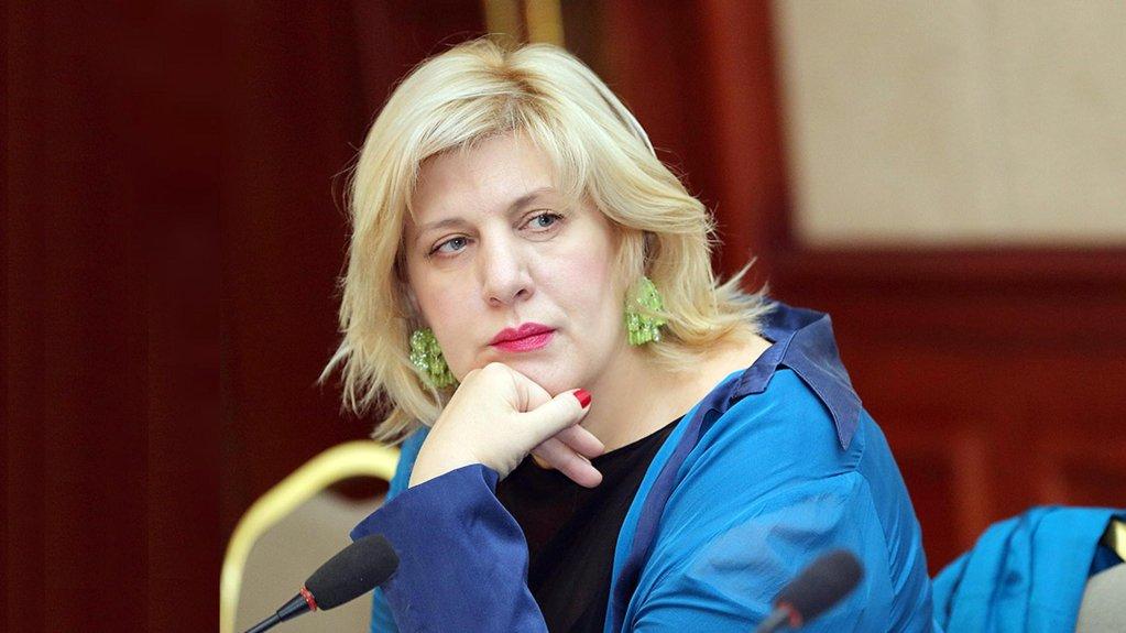 ANSA / دنيا مياتوفيتش مفوضة حقوق الإنسان بالمجلس الأوروبي.