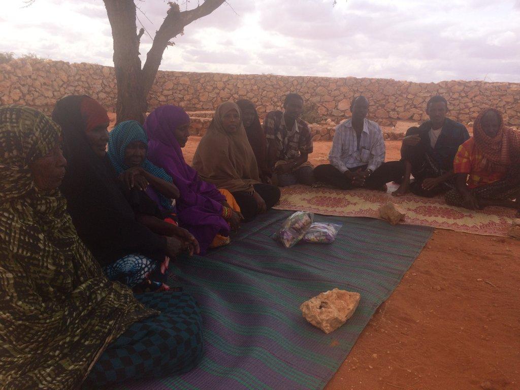 RFI/Sébastien Nemeth |Scène de vie quotidienne au camp Hoodoo à Bur Salah, Somalie.