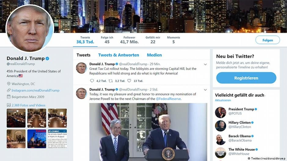 Trump's Twitter feed has been linked to anti-immigrant violence