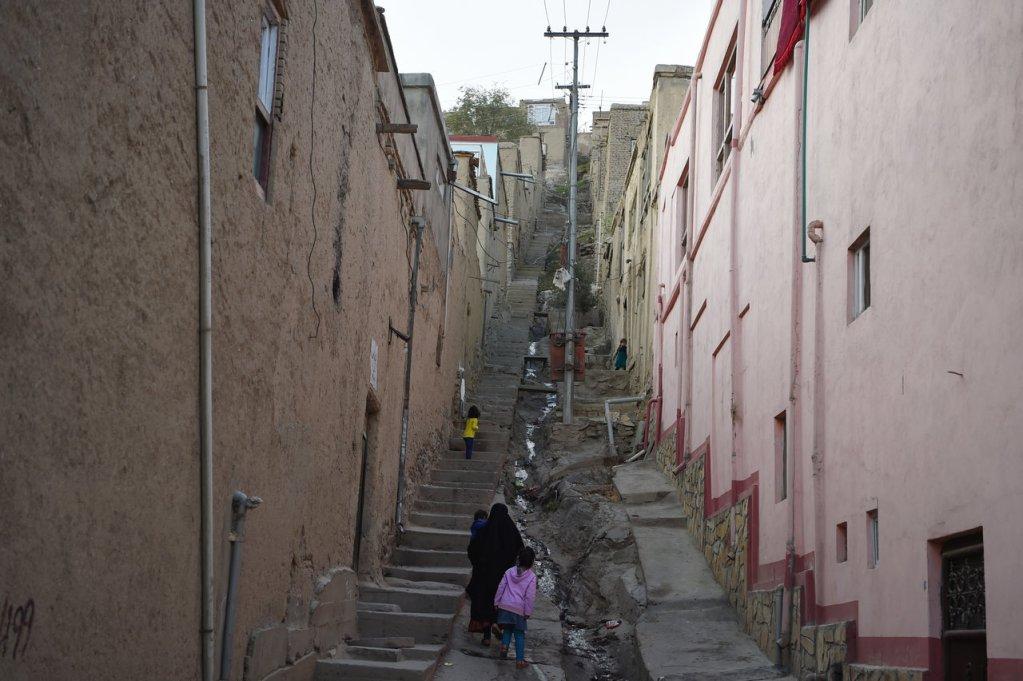 WAKIL KOHSAR / AFP  Les rues de Kaboul, octobre 2018 (photo d'illustration).