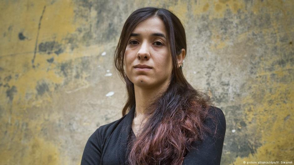 Human rights activist Nadia Murad was one of the first beneficiaries of the Baden Württemberg program