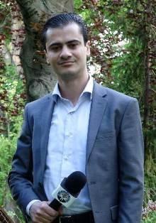 الإعلامي الفلسطيني أحمد مراد يدير مشروعاً إعلامياً تطوعياً في النمسا باسم
