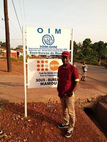 Au Niger, l'OIM s'est occupé du rapatriement des migrants africains dans leur pays respectif