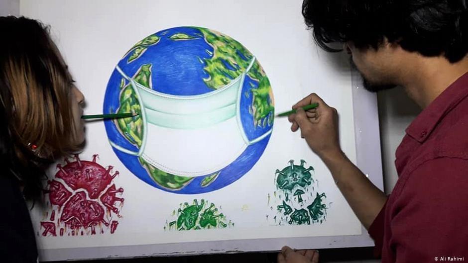 L'école d'art de Robaba a été prise pour cible par les talibans | Photo : Ali Rahimi