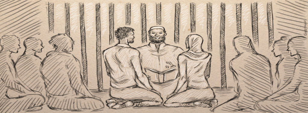 Jalal and Leila married in prison with the help of a fellow inmate