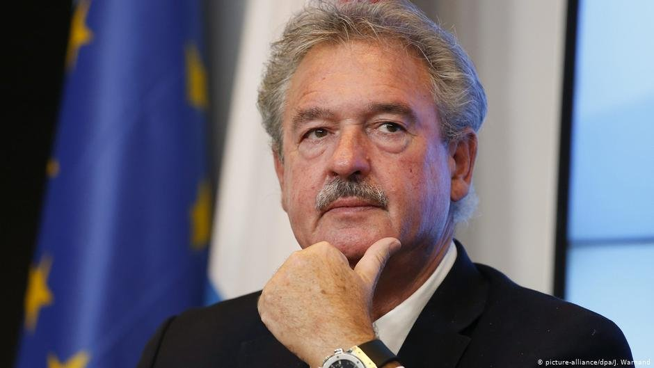 ژان اسلبورن وزیر خارجه لوکزامبورگ