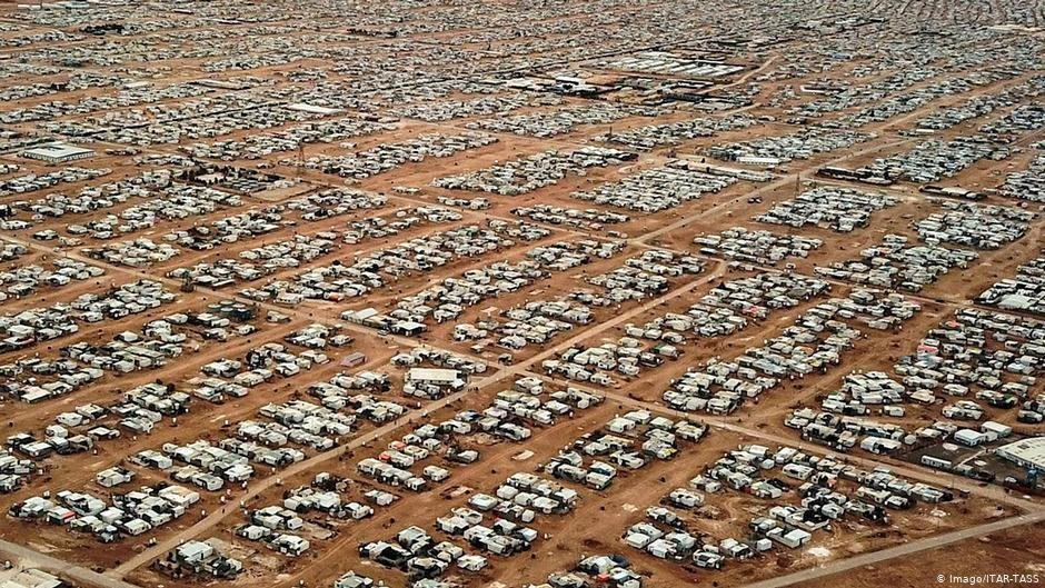 Jordan's Zaatari camp houses around 80,000 people | Photo: Imago/TAR-TASS