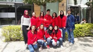 فريق اللاجئات الفلسطينيات لكرة السلة / ANSA