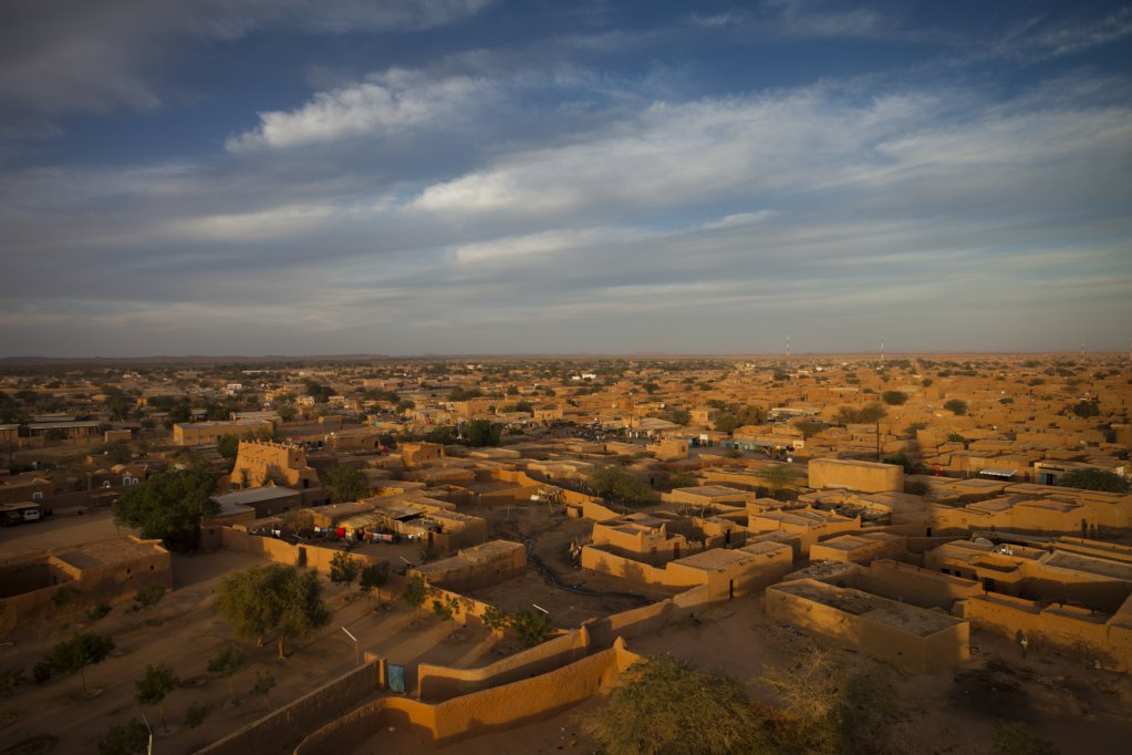 Agadez, one of Africa's main hubs of migration