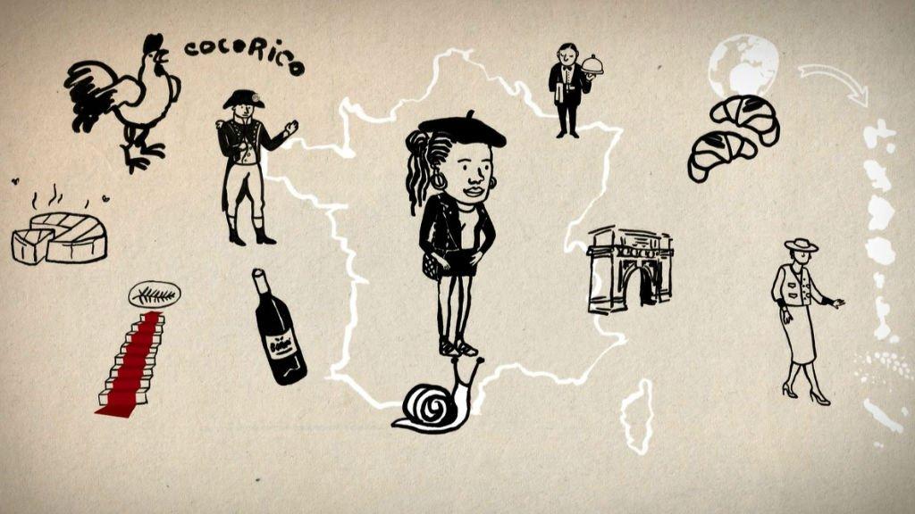 Vidéos, illustrations, contenus sonores : ces nouveaux cours de français prennent diverses formes. Crédits : dailymotion.com/fr-universite-numerique