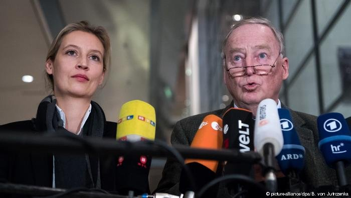 AfD leaders like Weidel and Gauland get disproportionate air time