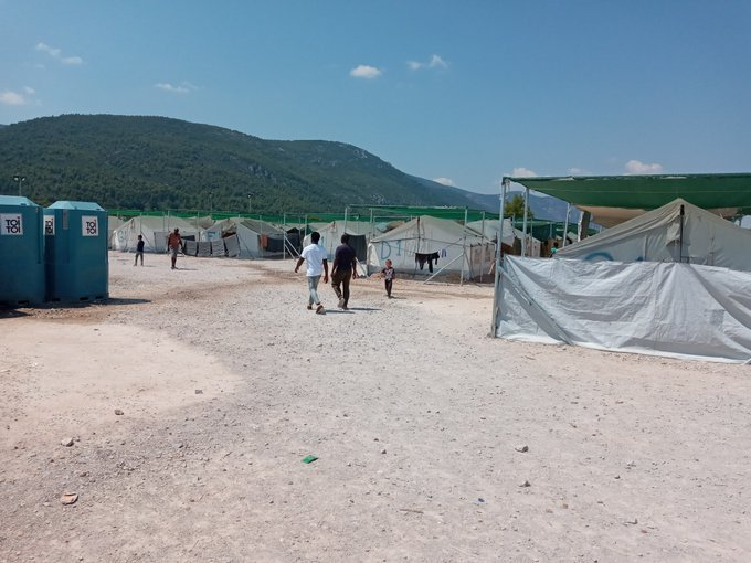 Malakasa 2 migrant camp Greece August 13 2020  Credit private