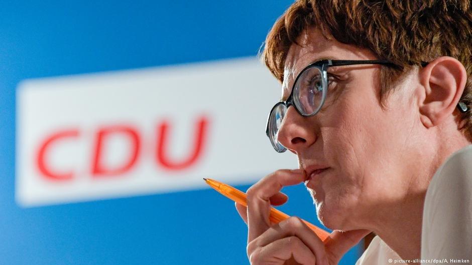 زعيمة الحزب المسيحي الديمقراطي، أنغريت كرامب-كارنباور