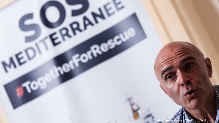 Press conference with SOS Mediterranee