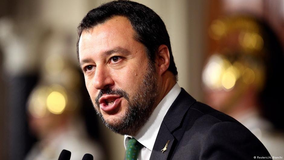 Italian Interior Minister Matteo Salvini made a tough stance on migration part of his election campaign