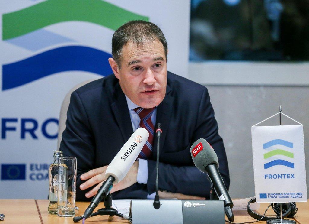 Frontex executive director Fabrice Leggeri. Credit: EPA/STEPHANIE LECOCQ