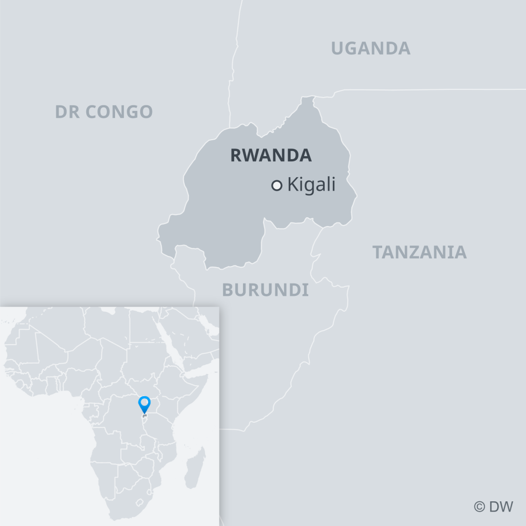 Despite being the smallest African country in the region, Rwanda has ambitious plans   Photo: DW