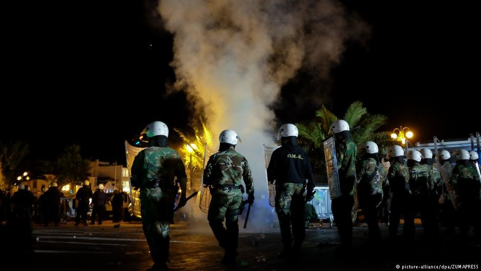 The attacks sparked clashes that lasted throughout the night