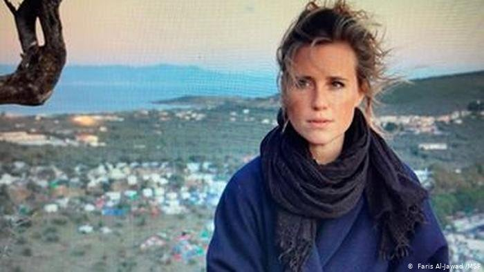 Journalist Franziska Grillmeier has lived on Lesbos for years  Photo Faris Al Jawad  MSF