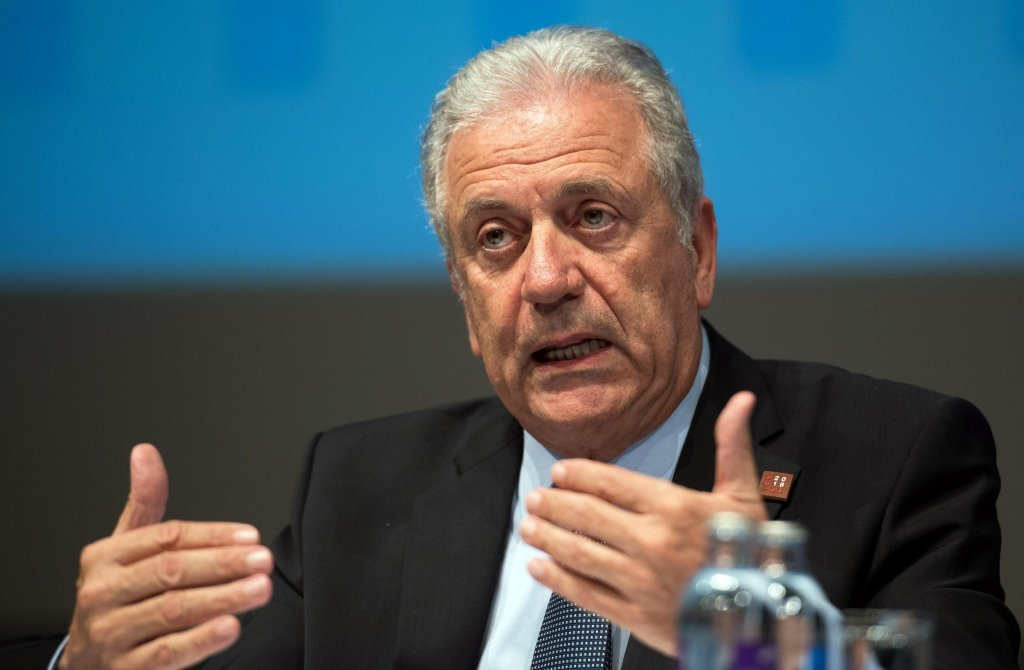 EU Commissioner for migration and home affairs Dimitris Avramopoulos   Credit: ANSA