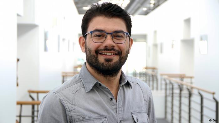 صخر المحمد يدرس في برنامج الماجستير في أكاديمية DW