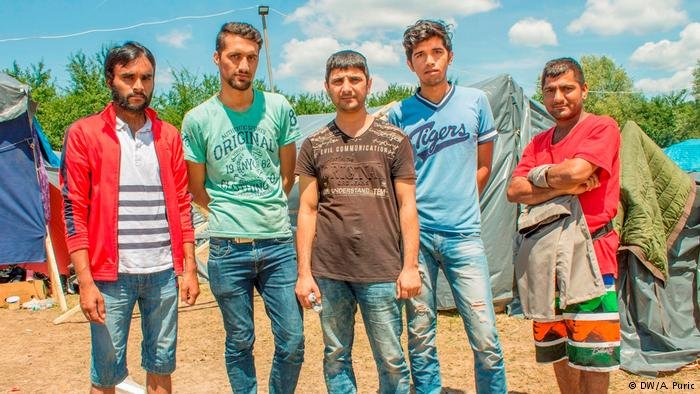 Pakistani refugees in Bosnia: Despite the difficulties, they're not giving up