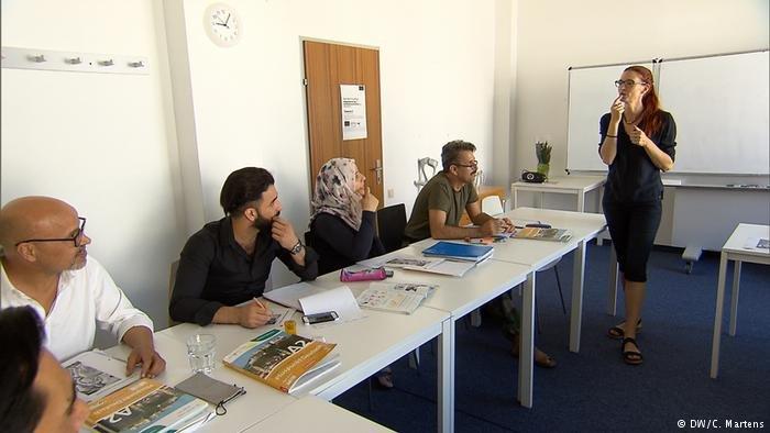 German language course in Austira (DW/C.Martens)