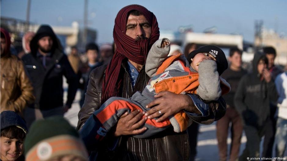 در نتیجه جنگ جاری سوریه، میلیونها پناهجو به کشورهای مختلف جهان آواره شده اند.