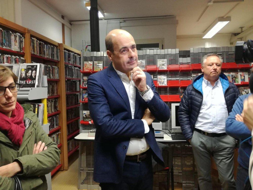 Lazio Governor Nicola Zingaretti | Photo: ANSA