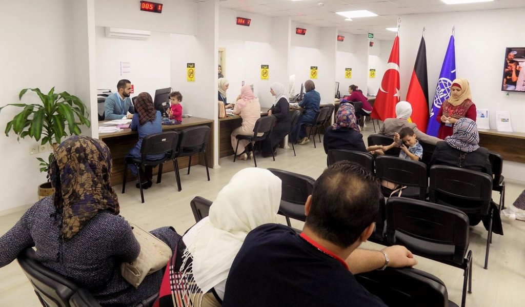 The IOM set up assistance offices in Turkey Lebanon and Iraq to help poeple looking to reunite with family members in Germany