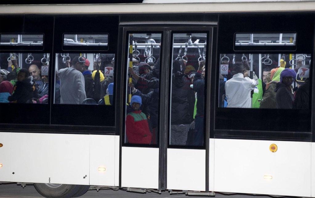 162 migrants reach Italy's Pratica di Mare airport near Rome via the first humanitarian corridor from Libya