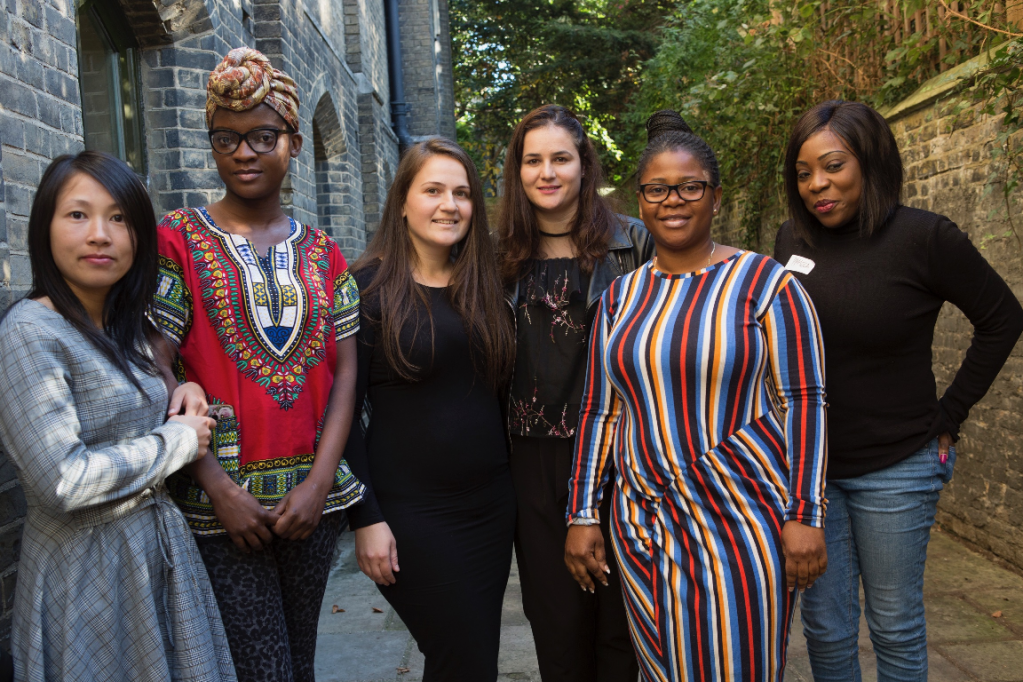The group was started by women who fled to the UK to seek asylum and protection for their babies  Credit Happy Baby Community