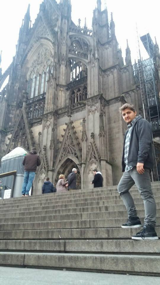 Syrian Mohamad Kayali has made a new home in Cologne Germany Credit M Kayali