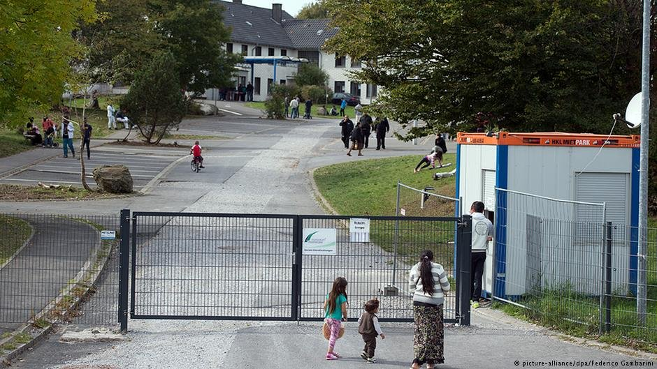 Some of the refugees suffering abuse at Burbach four years ago have reportedly since left Germany  Credit picture-alliancedpaFederico Gambarini