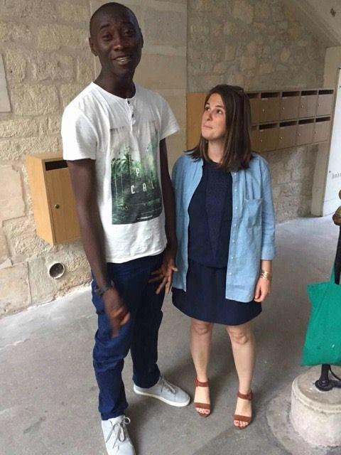 Mohammed et Dauphine. Crédit : Bérénice
